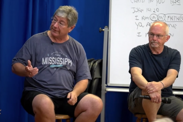 2019 Men's Gathering Session #3 - Paul and Baxter Q & A (Saturday AM)